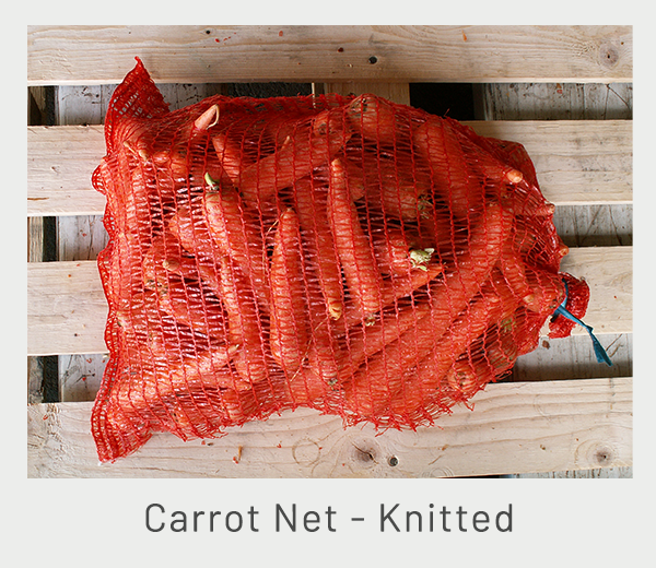 carrot-net-knitted