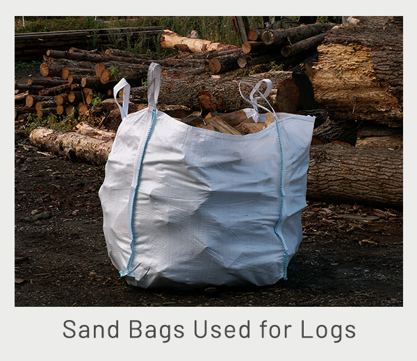 sand-bags-used-for-logs